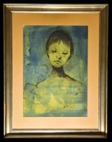 <h5>Enrico Colombotto Rosso - Figura</h5><p>Olio su tela, cm 35 x 50</p>