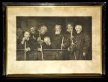 <h5>Pier Celestino Gilardi - Hodie tibi cras mihi</h5><p>Incisione di A. M. Gilli per la Maison Goupil, cm 37 x 65, 1884</p>