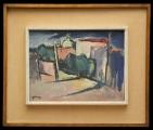<h5>Luigi Roccati - Senza Titolo</h5><p>Olio su tela, cm 30 x 40, 1960</p>