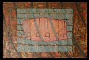 <h5>Gianni Bergamin - Serie Materie n. 7 Senza titolo  </h5><p>tecnica mista su tela, 100 x 150 cm 1996</p>