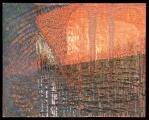 <h5>Gianni Bergamin - Serie Materie n. 5 Senza titolo  </h5><p>tecnica mista su tela,  80 x 100 cm 1996</p>