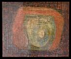 <h5>Gianni Bergamin - Serie Materie n. 4 Senza titolo  </h5><p>tecnica mista su tela, 80 x 100 cm 1996</p>