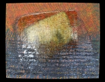 <h5>Gianni Bergamin - Serie Materie n. 2 Senza titolo  </h5><p>tecnica mista su tela, 80 x 100 cm 1996</p>