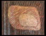 <h5>Gianni Bergamin - Serie Materie n. 3 Senza titolo  </h5><p>tecnica mista su tela,  80 x 100 cm 1996</p>