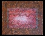 <h5>Gianni Bergamin - Serie Materico n. 3 Senza titolo  </h5><p>tecnica mista su tela,  80 x 100 cm 1996</p>